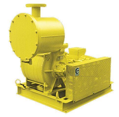 Biogas flertrins centrifugfalblæser